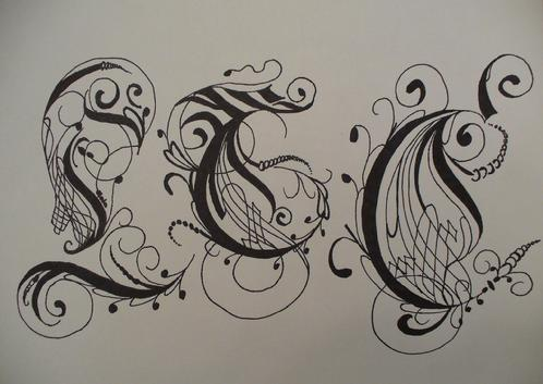 Artwork- Calligraphy Design