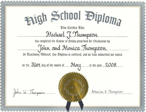 Calligraphy Personalizing Certificates/Diplomas/Awards